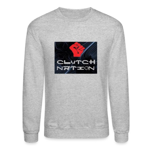 clutchnation logo merch - Crewneck Sweatshirt
