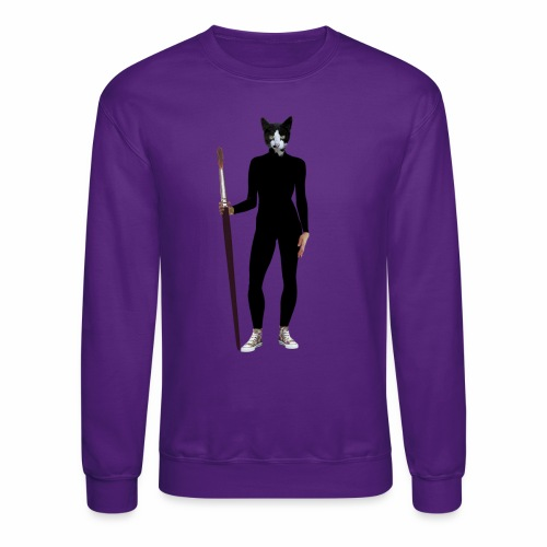 Cat Artist - Crewneck Sweatshirt
