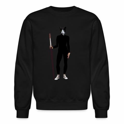 Cat Artist - Crewneck Sweatshirt