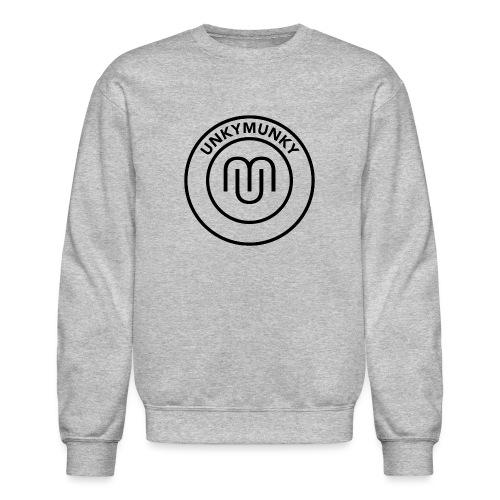 UnkyMunky Logo black - Crewneck Sweatshirt