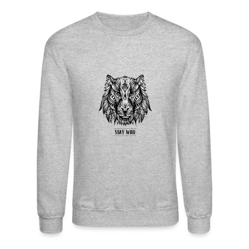 Stay Wild - Crewneck Sweatshirt