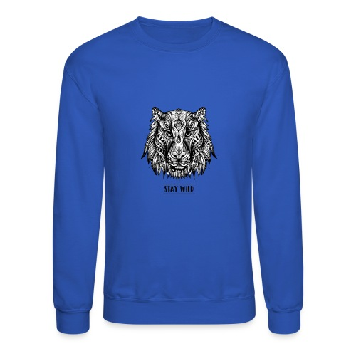 Stay Wild - Crewneck Sweatshirt