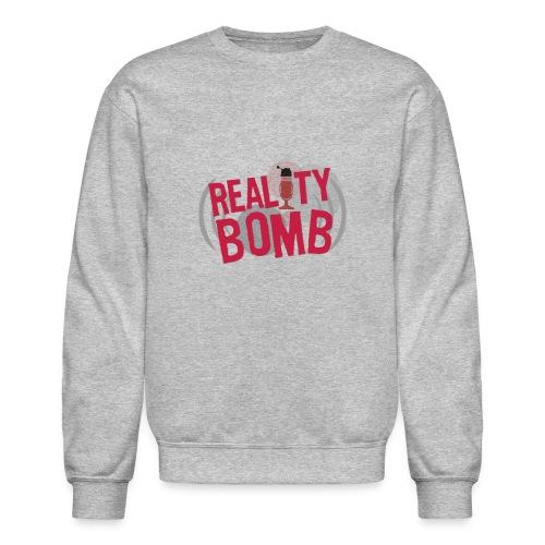 Reality Bomb logo png - Unisex Crewneck Sweatshirt