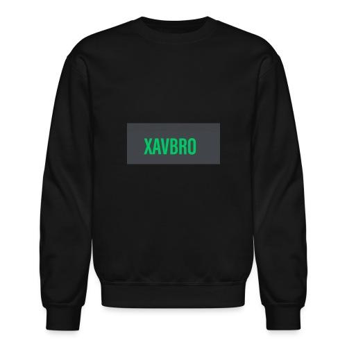 xavbro green logo - Crewneck Sweatshirt