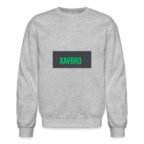 xavbro green logo - Unisex Crewneck Sweatshirt