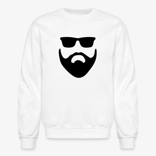 Beard & Glasses - Crewneck Sweatshirt