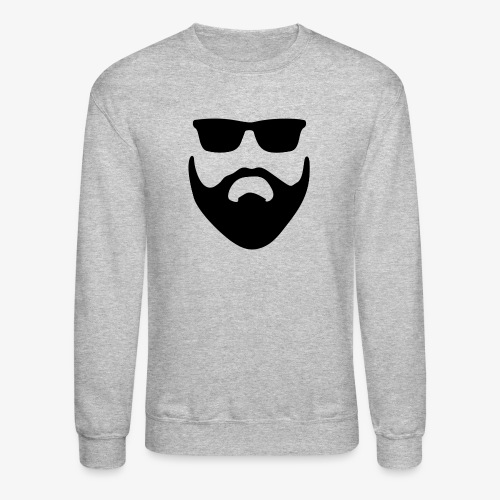 Beard & Glasses - Crewneck Sweatshirt