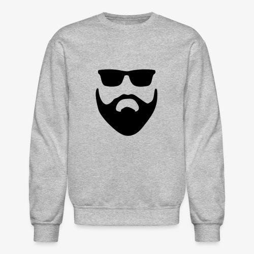 Beard & Glasses - Unisex Crewneck Sweatshirt