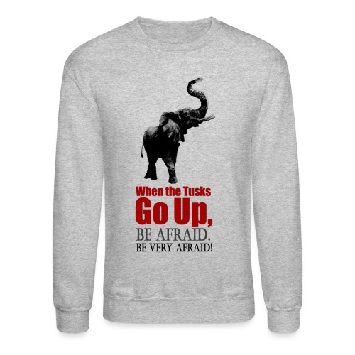 When the trunk goes up Be - Unisex Crewneck Sweatshirt
