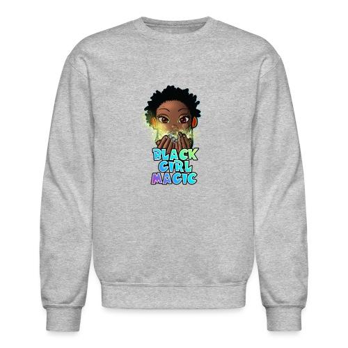 Black Girl Magic - Unisex Crewneck Sweatshirt