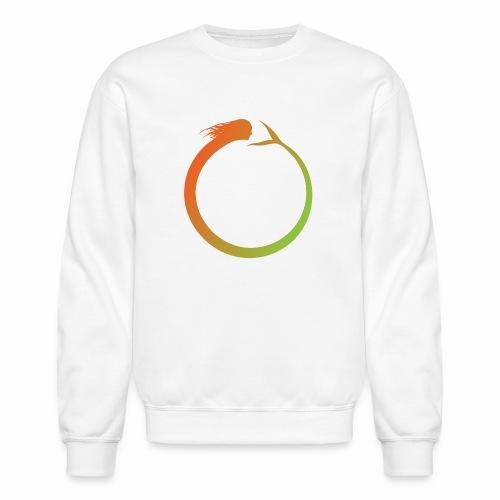 Circle Swimmer - Crewneck Sweatshirt