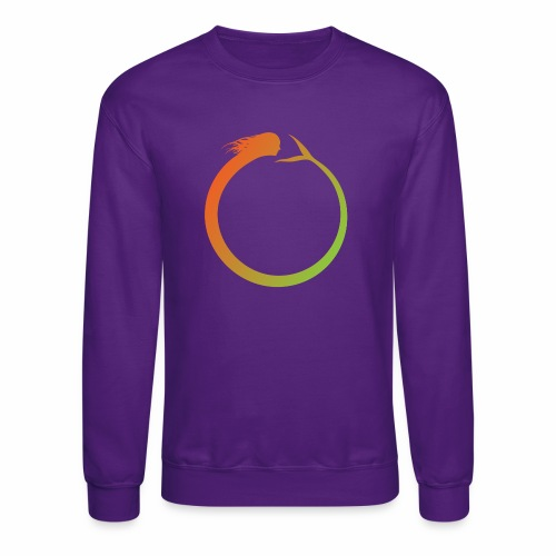 Circle Swimmer - Crewneck Sweatshirt