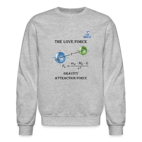 Newton Gravity MuMeG with UBWise logo - Unisex Crewneck Sweatshirt