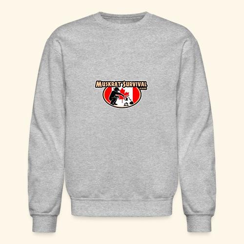 Muskrat Badge 2020 - Unisex Crewneck Sweatshirt