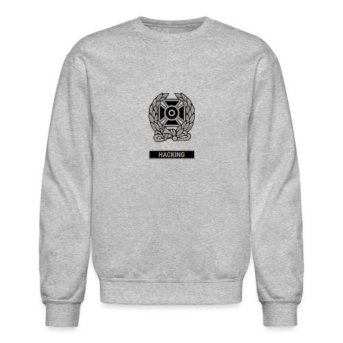 Expert Hacker Qualification Badge - Unisex Crewneck Sweatshirt