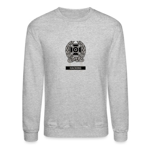 Expert Hacker Qualification Badge - Unisex Crewneck Sweatshirt