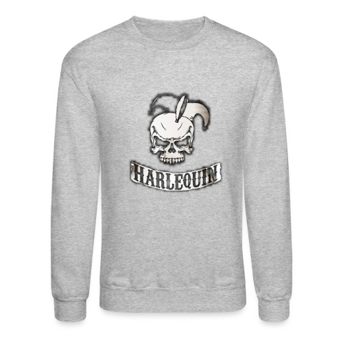 harlequin2048 png - Crewneck Sweatshirt