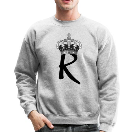R with Crown - Crewneck Sweatshirt