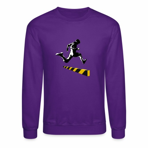 Leaping The Bounds of Caution - Crewneck Sweatshirt