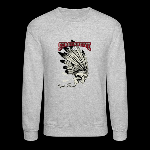 STRAIGHT NATIVE SKULL - Crewneck Sweatshirt