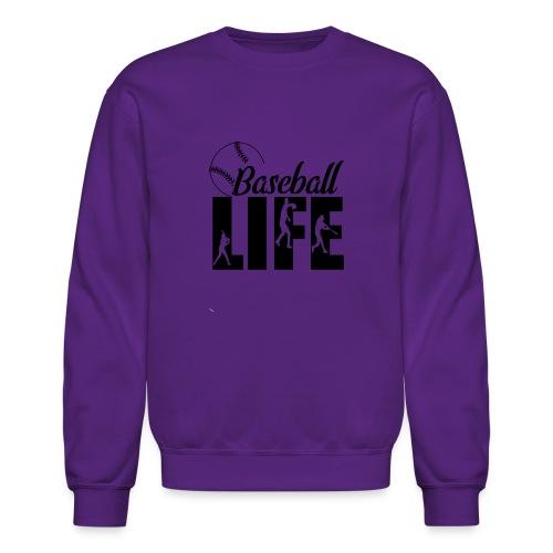 Baseball life - Crewneck Sweatshirt