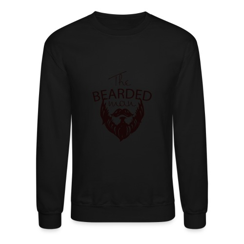 The bearded man - Unisex Crewneck Sweatshirt