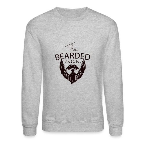 The bearded man - Unisex Crewneck Sweatshirt