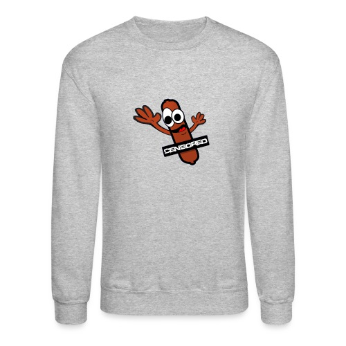 saucisson king png - Crewneck Sweatshirt