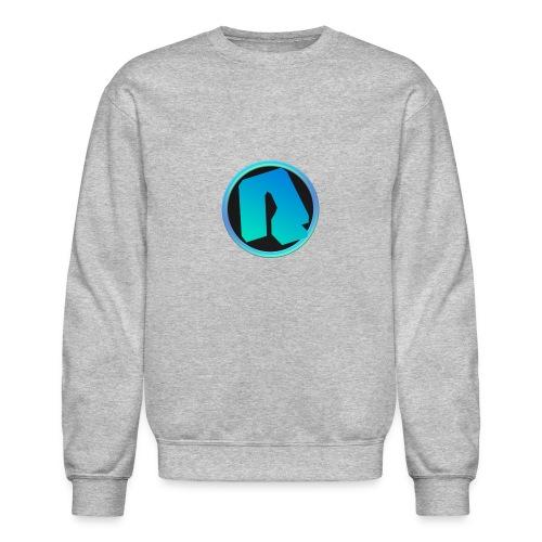 Channel Logo - qppqrently Main Merch - Crewneck Sweatshirt