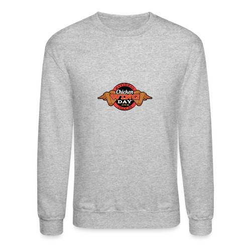 Chicken Wing Day - Unisex Crewneck Sweatshirt