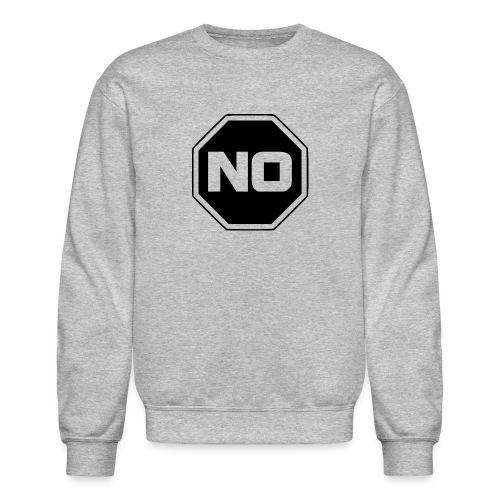 stopp say no - Crewneck Sweatshirt