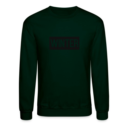 Winter x Sweatshirt - Unisex Crewneck Sweatshirt