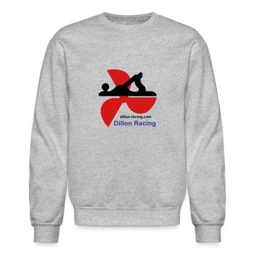 Logo Sticker - Unisex Crewneck Sweatshirt