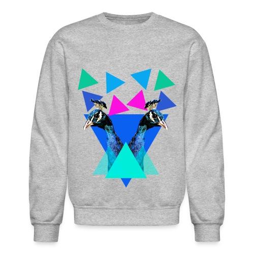peacock - Unisex Crewneck Sweatshirt