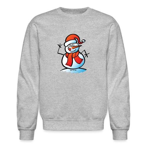 Mad Snowman - Crewneck Sweatshirt