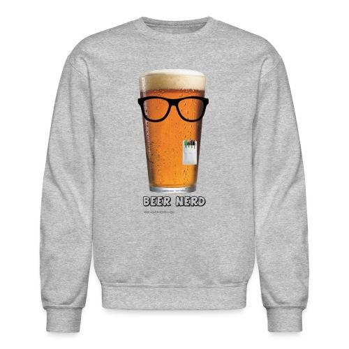 Beer Nerd Men's 3XL/4XL Hooded Sweatshirt - Crewneck Sweatshirt