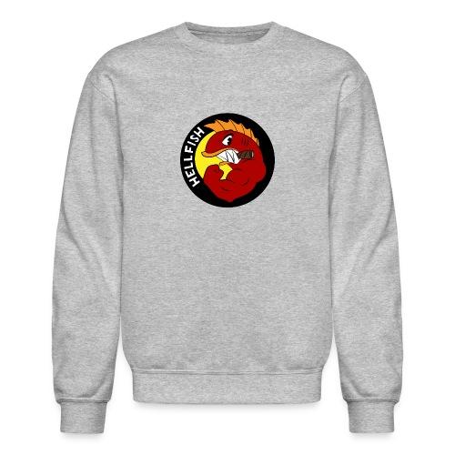 Hellfish - Flying Hellfish - Unisex Crewneck Sweatshirt