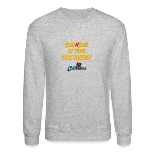 Anti Sub4Sub - Unisex Crewneck Sweatshirt