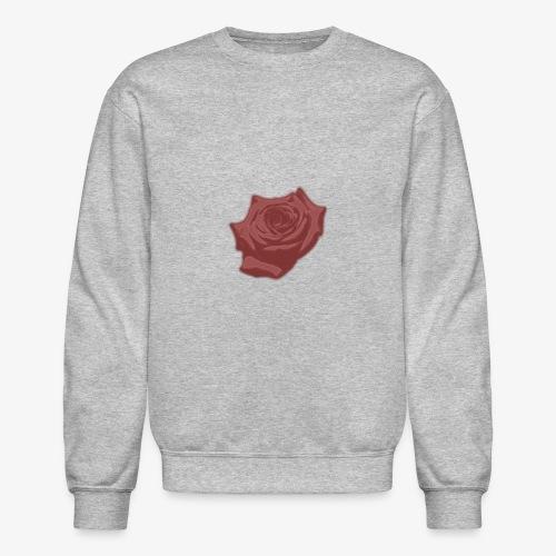 Down Rose Modern - Crewneck Sweatshirt
