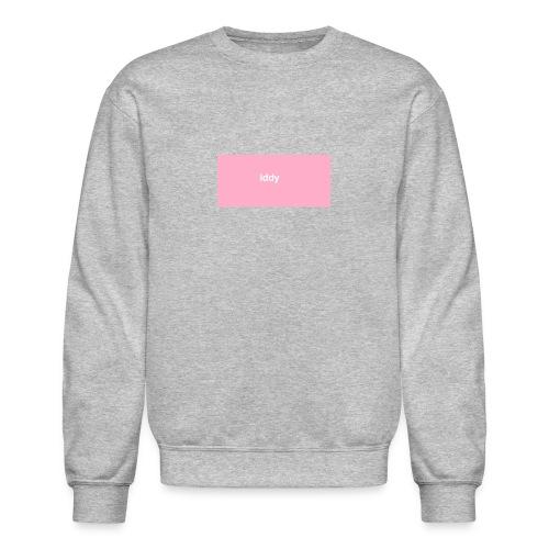 iddy in a pink box - Crewneck Sweatshirt