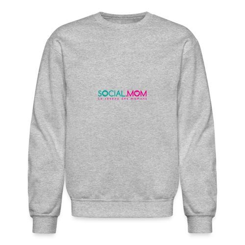 Social.mom logo français - Crewneck Sweatshirt