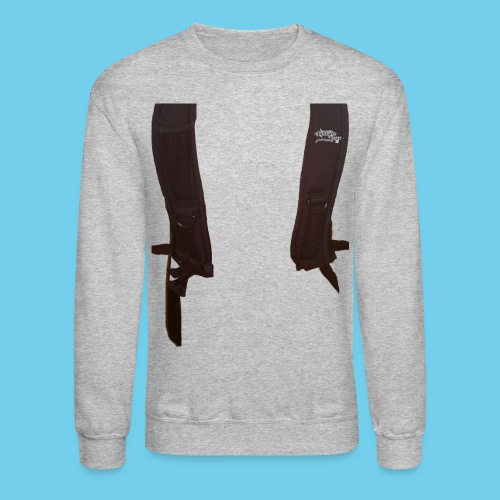 Backpack straps - Unisex Crewneck Sweatshirt