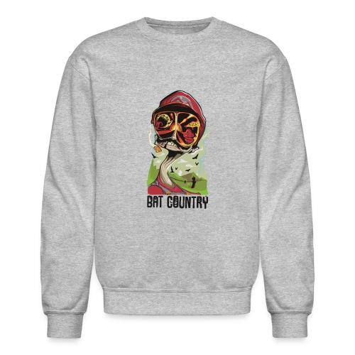 Fear and Mario at Bat Country - Crewneck Sweatshirt