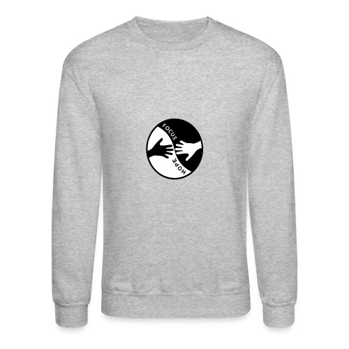 Focus: HOPE Circle - Unisex Crewneck Sweatshirt