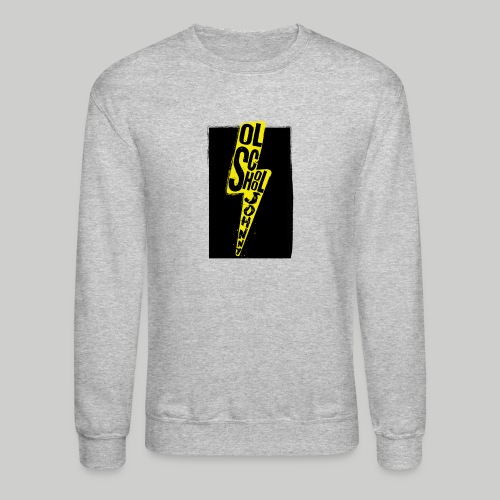 Ol' School Johnny Colour Lightning - Unisex Crewneck Sweatshirt