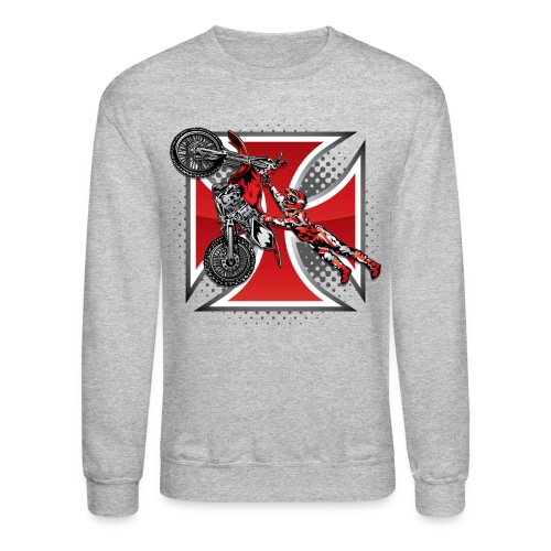 Red Baron Motocross - Crewneck Sweatshirt