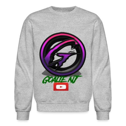 goalie nj logo - Crewneck Sweatshirt