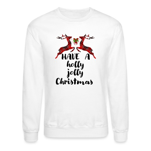 Holly Jolly Christmas - Crewneck Sweatshirt