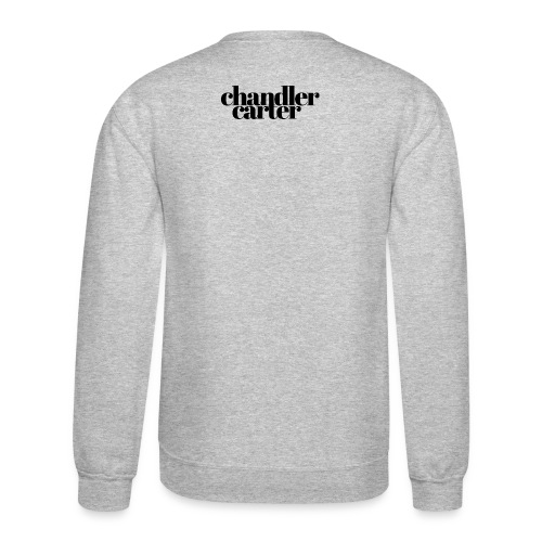 Chandler Carter Logo - Black - Crewneck Sweatshirt