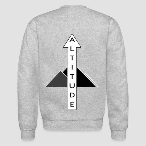 Altitude Arrow Mountain - Unisex Crewneck Sweatshirt